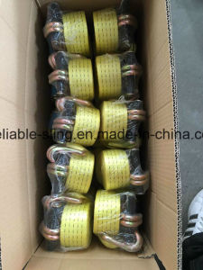 En12195-2 Ratchet Lashing/Ratchet Tie Down Strap with Ce ISO SGS pictures & photos