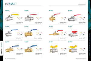 Brass Ball Valve with Aluminum Handle BV-1320 F/F pictures & photos