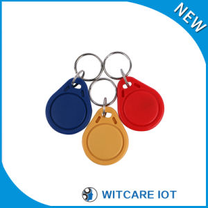 ISO 14443A 13.56MHz RFID Keyfob for Access Control