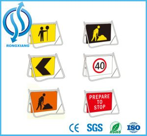 Roadway Safety Swing Stand Frame Sign pictures & photos