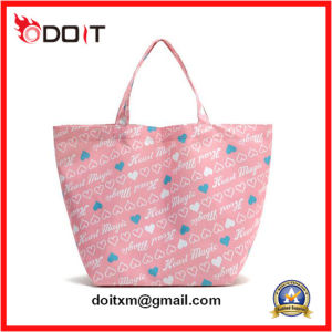 Fashion Small 100% Natural Cotton Tote Bag with Short Handle pictures & photos