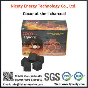 Nicety Cocobrico Pure Coconut Shell Cube Hookah Charcoal pictures & photos