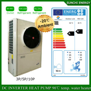 Cold-30c Winter 12kw, 19kw Central Heating Evi Heat Pump Heater pictures & photos