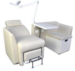 High Cost-Performance Pedicure and Manicure Chair for Beauty Salon (TKN-D3M003) pictures & photos