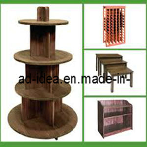 Garment Display Stand, MDF Display Stand, Display Stand (MDF-005) pictures & photos