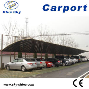 Strong and Durable Metal Frame Carport for 2 Cars Parking (B800) pictures & photos