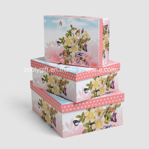 Wholesale Printing Paper Storage Gift Box / Nesting Paper Packing Boxes pictures & photos