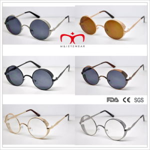 Special Retro Style Round Frame Metal Sunglasses (MI216) pictures & photos