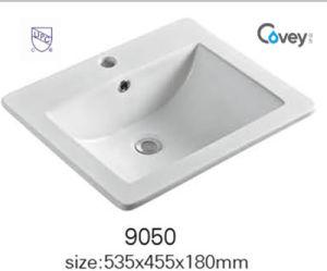 Cupc Standard Ceramic Washbasin/Cabinet Sink (A-9050)