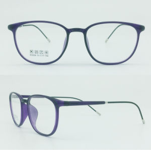 Factory Sell Super Light Half Plastic Steel Fashion New Design Optical Frames Eyewear pictures & photos