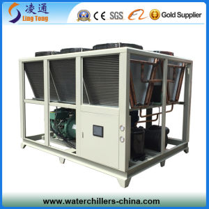 50ton High Efficient Bitzer Compressor Air Cooled Screw Water Chiller pictures & photos