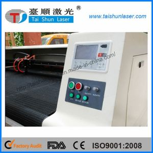 Seat Cover Automotive Cushion CO2 Laser Cutting Machine 180140 pictures & photos