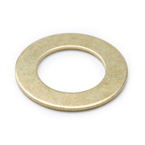 High Precision Brass Plain Washer Sell to USA pictures & photos