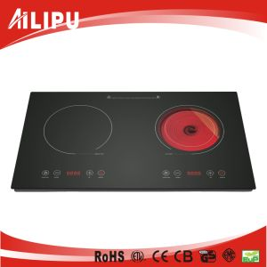 Double Burner Cookware of Home Appliance, Kitchenware, Infrared Heater, Stove, (SM-DIC08-1) pictures & photos