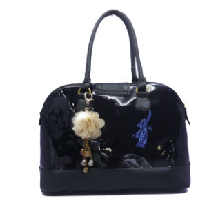 New Design Colored Black Fashion Leisure Ladies PU Handbag