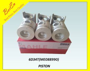 Genuine Mahle Piston for Excavator Engine 6D34t (Part number: ME088990) pictures & photos