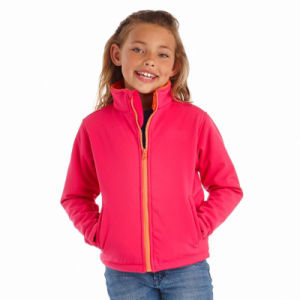 2016 Girls′ Softshell Jacket with Backing Sherpa pictures & photos