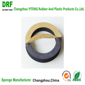 Closed Cell EPDM Foam Gasket Ring with Adhesive for Equipment pictures & photos
