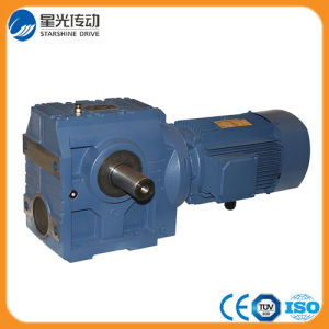 K Series Electric Motor Speed Reducer with Output Shaft pictures & photos