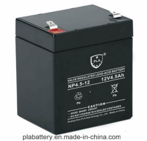 12V4.5ah AGM Rechargeable Gel Solar Battery with Ce
