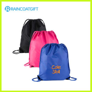 Waterproof Custom Nylon Drawstring Bag for Promotion pictures & photos