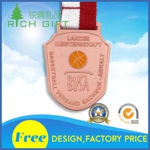 Supply Design Custom Gold Award Metal Sport Medal pictures & photos