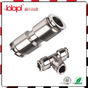 Zinc PU Fittings/ Brass Tee Fittings, Brass Fittings, Manufacture of Pneumatic Fittings, Auto Parts Fittings pictures & photos