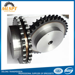 ISO Standard Type B Double Sprockets with Different Treatment pictures & photos