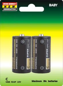 1.5V C R14 Um2 Dry Battery pictures & photos