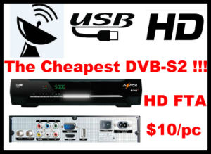 Full HD High Quality DVB-S2 FTA Satellite Receiver pictures & photos