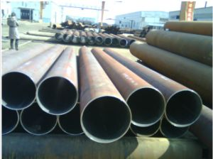 ERW Steel Pipe with ISO Certificate pictures & photos