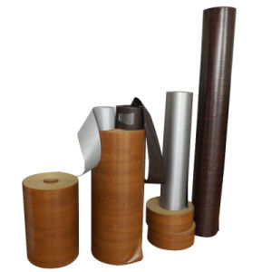 Outdoor Use Plastik PVC Film with Wooden Grain Color pictures & photos