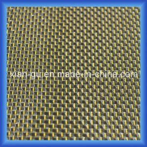 210g 3k Plain Golden Wire Silver Thread Carbon Fiber Fabrics pictures & photos