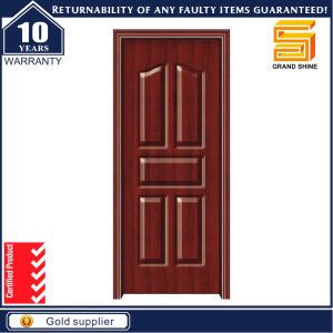 Best Sell Simple Design PVC Wooden Door PVC Interior Door pictures & photos