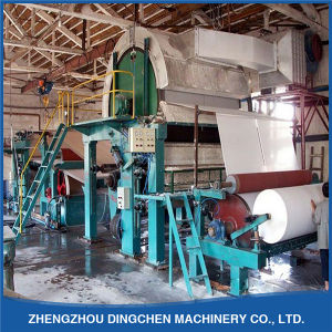 2tpd Toilet Tissue Paper Machine (DC-1092mm) pictures & photos