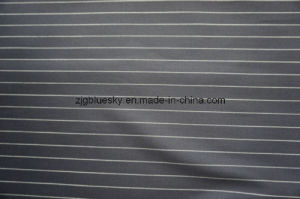Strip Navy Wool Fabric of 100% Wool pictures & photos