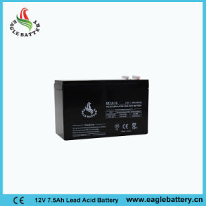 12V 7.5ah Rechargeable Lead Acid Mf Solar Battery for E-Bike pictures & photos