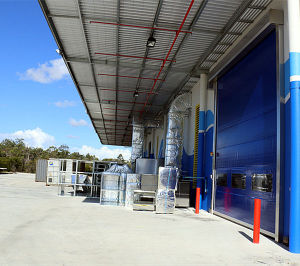 Industrial Fold up Automatic High Speed Security Door pictures & photos