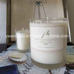 Romantic Scetned Soy 3-Wicks Decro Candle in Big Glass pictures & photos