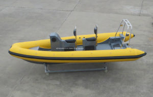 Aqualand 19feet 5.8m Military Rigid Inflatable Boat/Rescue Boat/Rib Patrol Boat (RIB580T) pictures & photos