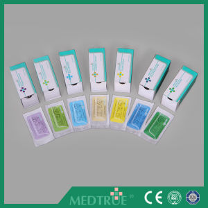 High Quality Disposable Surgical Suture with CE&ISO Certification (MT580J0711) pictures & photos