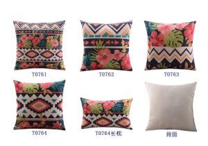 Botanical Decorative Cushion Fashion Transfer Print Pillow (T0761) pictures & photos