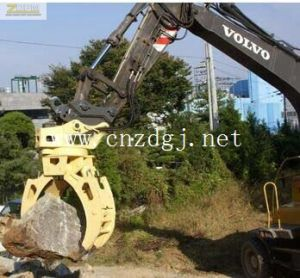 Hydraulic Orangel Peel Excavator Grab for Barge Lifting pictures & photos