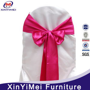 Hot Selling Popular Chiffon Sash Wedding Chair Cover pictures & photos