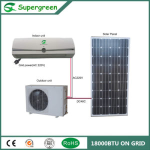 Energy Saving Acdc Wall Mounted Solar Air Conditioner