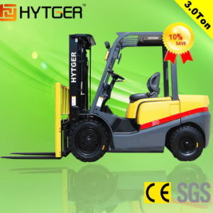 3 Ton Diesel Forklift with 3 Stage Mast (Fd30t) pictures & photos