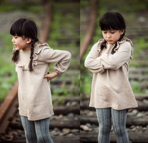 2015 Early Autumn Fashion Design Healthy Fabric Kids Clothing for Girls pictures & photos
