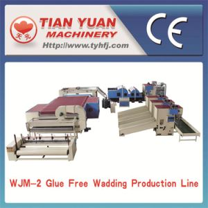 Nonwoven Fiber Quilt Wadding Production Line (WJM-2) pictures & photos