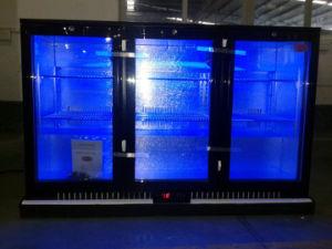 Back Bar Triple Door Display Beer Cooler with Ce, CB, RoHS, Meps, ETL pictures & photos