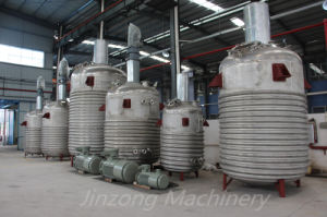 Jinzong Machinery Stainless Steel Reaction Vessle Tank pictures & photos